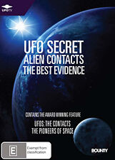 UFO SECRET ALIEN CONTACTS (THE BEST EVIDENCE) - 2 HOUR REVEALING DOCUMENTARY DVD