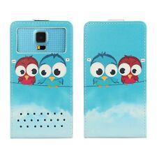 Smartphone FLIP Case For Panasonic P85 - Cartoon Bird FLIP 2