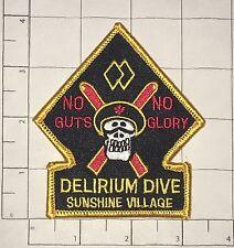 Delirium Dive Patch - Sunshine Village - No Guts No Glory