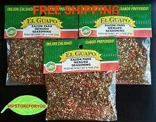 3 Pack EL GUAPO Seasoning 0.75 oz each-Sazon para Menudo 21g c/u FREE SHIPPING