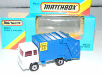 1979 Matchbox No.36 Refuse Colectomatic Truck Die-cast Car Toy Lesney & Co