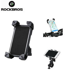 ROCKBROS Phone Bracket Holder Bike Bicycle Handlebar Mount Univeral Phone Black