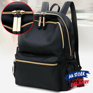 Casual Travel Backpack Women Schoolbag Oxford Cloth Anti-theft Outdoor Backpack