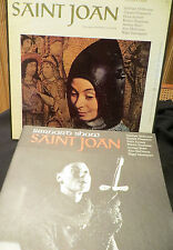 SAINT JOAN Vinyl Record Box Set  by Bernard Shaw TRS 311 with Performance Folio