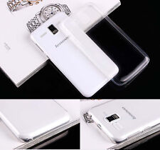 For Lenovo A8 A806 A808T Gold Warrior Ultra Tthin Clear Gel Skin case cover