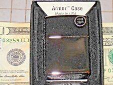 New Zippo Armor Plain High Polish Chrome Case Lighter USA Windproof Lifetime 167