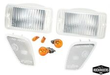 1997-2006 Jeep Wrangler & Unlimited Clear Corner & Turn Signal Lens Kit