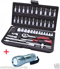 "Ks Tools 1/4"" juego llave tubular 48-tlg. 917.0648"
