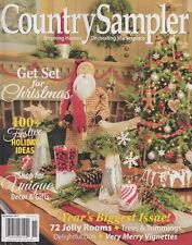 Country Sampler November 2017 Inspiring Homes & Decorating Marketplace