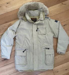 Men's Woolrich Bros Explorer Parka Down Jacket Insulated Coat Size Medium