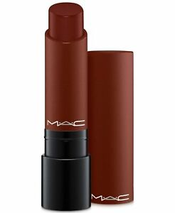 MAC~Liptensity Lipstick~DOUBLE FUDGE~Intense Reddish Brown~Discontinued GLOBAL