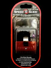 "SPEED O GUIDE THE ORIGINAL RED COMB FITS MOST BRANDS SIZE No. 00 1/16"" 1.6mm"