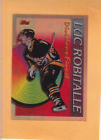 1994 95 FINEST DIVISIONS FINEST CLEAR CUT #4 LUC ROBITAILLE PITTSBURGH PENGUINS