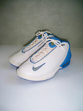 Vtg 2002 Nike Air UpTempo Press II White/Blue Basketball shoes SZ 11.5 SWEET