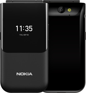 Nokia 2720 Flip Mobile Phone - Black