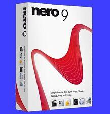 Nero 9 (Vollversion) + Videos + Info zu Windows 8.1  und  10