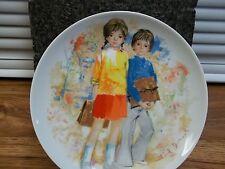 Vintage1979 Limoges Turgot France Emilie et Philippe Paul Durand Collector Plate