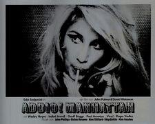 Addio! Manhattan ORIGINAL Aushangfoto Edie Sedgwick / Andy Warhol / Viva KULT