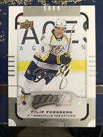 2015-16 Upper Deck Mvp Silver Script #109 Filip Forsberg