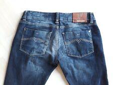 Daniel Stern Skinny Jeans W28 L34 slim fit Stretch Grau Blau washed look