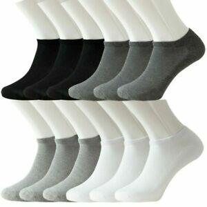 Premium 1x 3x 6x 12x Ladies Womens Trainer Socks Soft Cotton Ankle Sports Socks