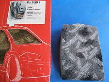 Housse de siège Bancarel gris pour: Renault: Clio II tous types 06/01->