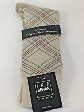 Ike Behar socks MID CALF navy blue sky pink gray green yellow chevron arrow