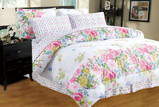 Oret 8-PC Twin-Full-Queen-King Bed Comforter Set w/ Sheets & Pillowcases