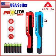 Arclusa 2PC Multifuction COB LED Magnetic Pen Work Light Inspection Flashlight