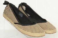 UGG Australia Indah Burlap 1004329 Polka Dot Slip On Ballet Flats Women's US 8