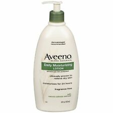 Aveeno Active Naturals Daily Moisturizing Lotion, 18 Ounce, Free Shipping, New