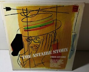 THE FRED ASTAIRE STORY w STARS OF JAZZ @ THE PHILHARMONIC USA 2xLP