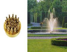 1.5 Inch 3 Layers Fountain Nozzle 19 Sprinklers Spray Head Pond Pool Brass NE#.