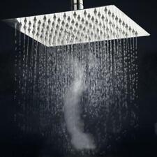 Ultra-Thin Square 8 Inch Shower Large Top Nozzle Rain Shower Bath Shower Head