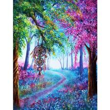 Dreaming Tree 5D Diamond DIY Embroidery Painting Cross Stitch Craft Wall Decor #