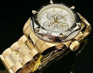 NEW Invicta 31610 Men's Pro Diver 54MM White Dial Swiss Ronda SS Bracelet Watch