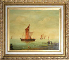 Peintures et émaux du XIXe siècle et avant encadrés baroques