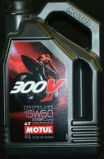 4 Liter Motul 300 V 4T Factory Line 15W-50 Motorradöl 15W50 ESTER Core 4 Takt