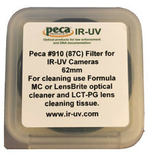 Peca IR-UV 62mm #910 (87C) Filter for IR-UV Cameras
