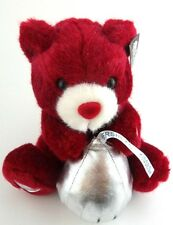 Electronic Talking Hershey Hershey's Red Plush Bear Kisses Big Kiss My Sweetie