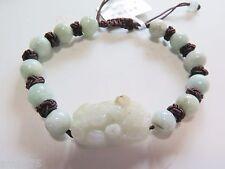 Beads & Bless Pixiu Bracelet Bracelet Hot Sale Natural Jadeite Jade 8mm Green
