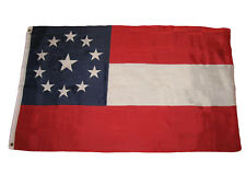 3x5 Csa Stars and Bars 11 Flag First National Battle Flag Banner grommets poly
