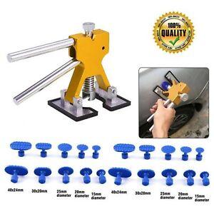 Tool Kit Car Paintless Dent Puller Lifter Repair Hail Removal Set ATF