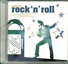 MUSIC FOR ROCK 'N' ROLL CD - BUDDY HOLLY, THE PLATTERS & MORE
