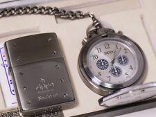 ZIPPO LIMITED EDITION CHRONOGRAPH WATCH SET VERY RARE1518