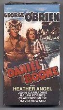 """DANIEL BOONE"" starring GEORGE O'BRIEN w/ HEATHER ANGEL on New, Sealed VHS"