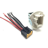 Heater Blower Fan Resistor + Wiring Loom Harness For Nissan Renault Vauxhall