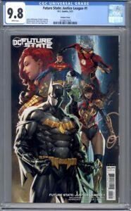 Future State: Justice League #1  Kael Ngu Variant    1st Print   CGC 9.8