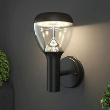 Nbhanyuan Lighting Led Outdoor Wall Light Fixtures Exterior Lights Black (#8)