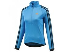 adidas Women's Response Long Sleeve Cycling Jersey Top LS Blue